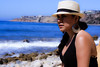 0012_SuzieTest (katNovoa) Tags: lighthouse southbay beachhat pointvincent shortblackdress suzielara