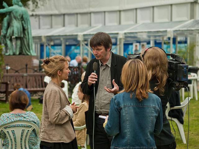 Interviewing Ian Rankin