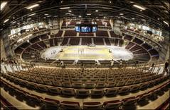 Ergo Arena (5y12u3k) Tags: new basketball hall poland polska fisheye arena seats 16mm zenitar hdr gdansk sopot gdask openday ergo photomatix