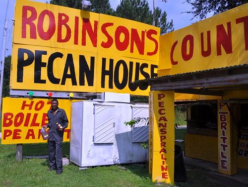 Arthur Robinson, Owner of Robinson's Pecan House
