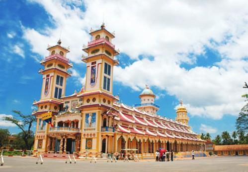 Cao Dai Temple, Ho Chi Minh