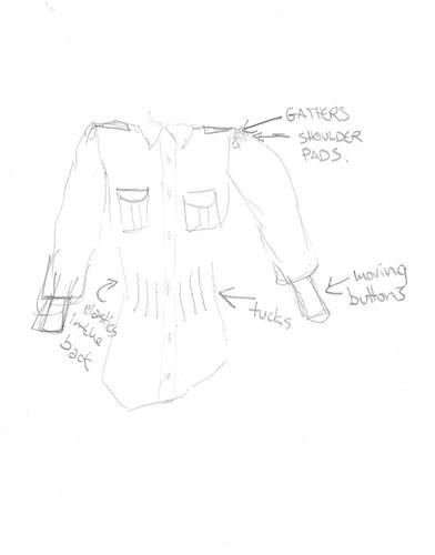 Hepburn shirt in spe