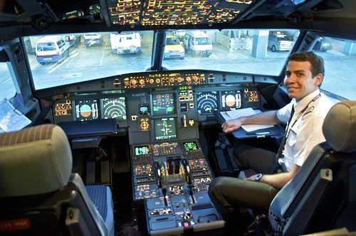 Piloto mexicano en JetStar