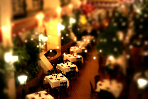 Restaurant in Miniature