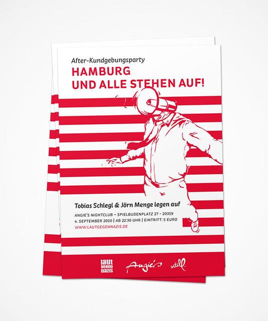 Hamburg und alle stehen auf!