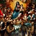 Quadro Madonna Degli Angeli Chiesa SS. Pietro e Paolo Petralia Soprana - Framework Holy Mother Of Angels Church of SS. Peter and Paul Petralia Soprana