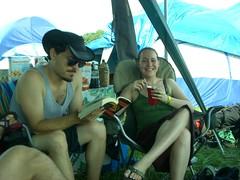 Tony, Kristen (Goob712) Tags: camping camp music philadelphia festival folk philly fest 2010 phila pff