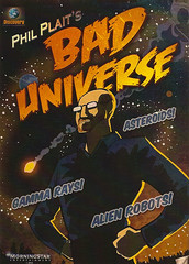Bad Universe promotional postcard
