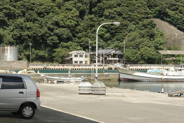 Senzaki Fishing port : Nagato City, Yamaguchi pref.