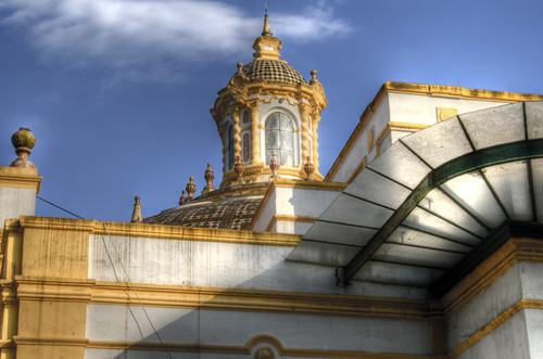 Lope de Vega theatre. Detail. Seville. Teatro Lope de Vega. Detalle. Sevilla.