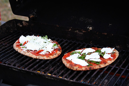 Grilled Naan Pizza