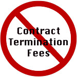 Locked in by cell phone contract fees