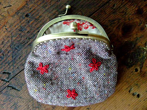 tutorial: diy coin purse