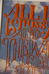 All-I-do-is-miss-you-CU (jordan clarke) Tags: illustration vintage typography artwork embroidery retro fabric calico stitching heartbreak breakup vintageadvertising digitalcollage jordanclarke theartofjordan