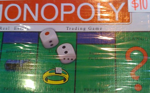 Monopoly close-up