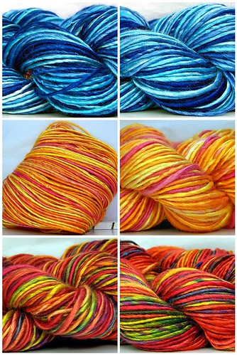 New Hand Spun Bamboo Yarns