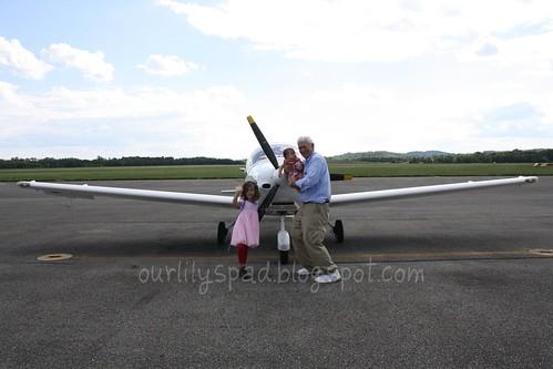 PopPop's new plane!