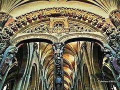 Orense catedral pórtico (ferlomu) Tags: catedral ferlomu gótico orense galicia