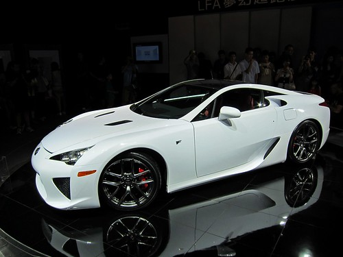 LEXUS LFA Sports Car