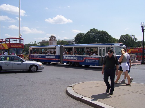 Tourmobile at Union Station