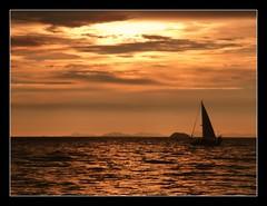 Sunset, Koh Phi Phi Leh, Thailand (skybluetara) Tags: ocean travel sunset sea tourism landscape thailand boat sailing lonelyplanet kohphiphi nationalgeographic ultimateshot