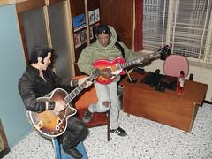 Elvis & Barack Jam