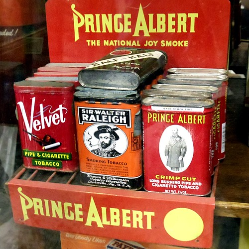 Prince Albert, in a can.