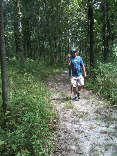 Jeff hiking