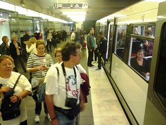 OsloBG participants at the tube