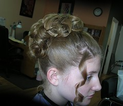 Wedding Hair Updo Styling
