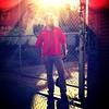 "52 Weeks of ""The One You Love"" (44): A Strange Visitor... (Sion+Anton) Tags: portrait brick graffiti streetportrait squareformat lensflare redshirt shadowsandlight 500x500 parkslopebrooklyn iphone4 iphoneography ©antonkawasaki beardedgaymalewithglasses astrangevisitor blindinglightoverhead lockedfencedgate donotparkheresigns camerabagformat126apps"