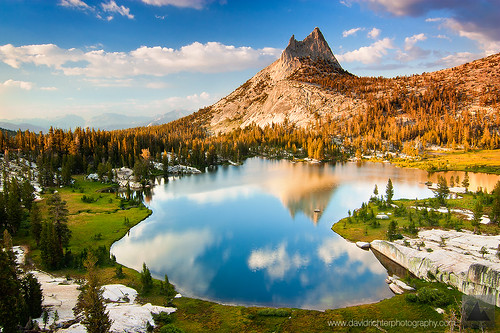 The Death Hike, Cathedral Peak, Yosemite -- Granite Reflections
