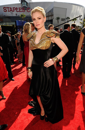 Anna Paquin at the 62nd Primetime Emmy Awards