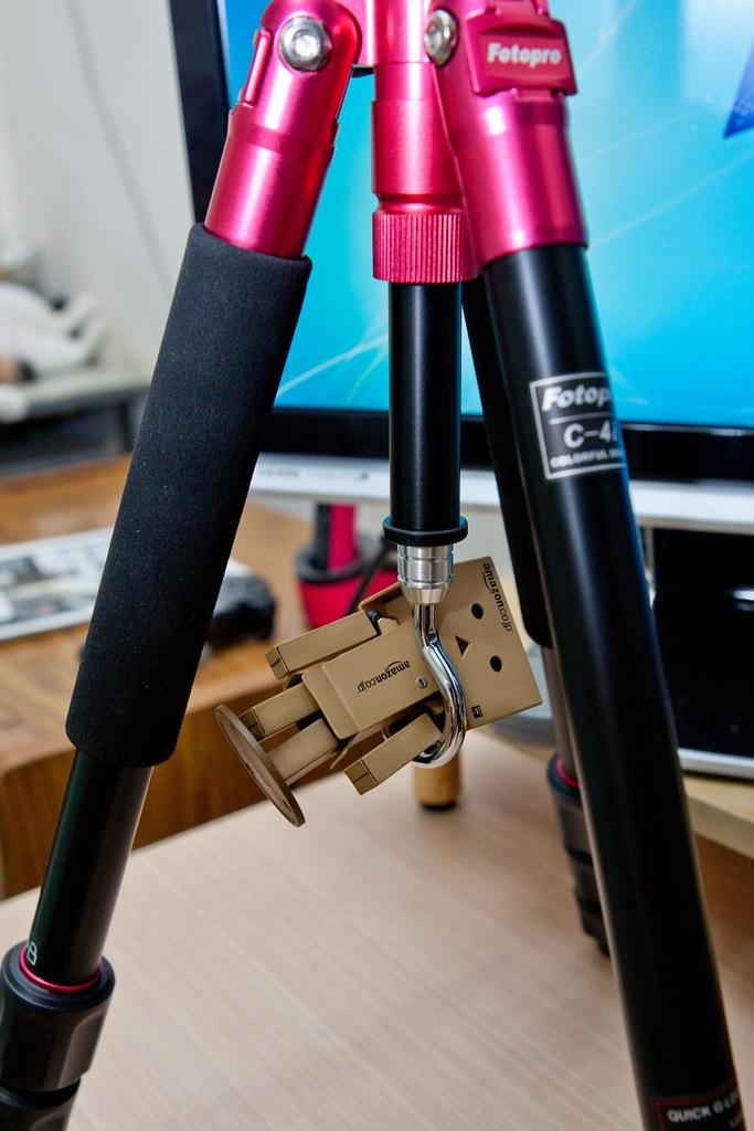 火紅的腳架 FotoPro C-4i 鋁合金腳架 @3C 達人廖阿輝