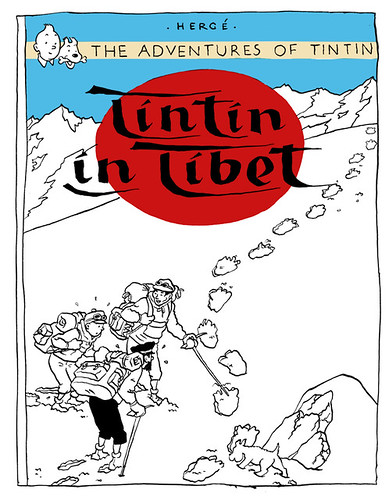 tintin drawing small
