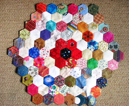 hexagons with five rings