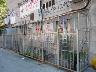 caged entrance nolita
