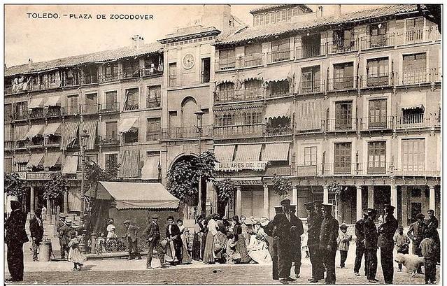 Plaza de Zocodover hacia 1900