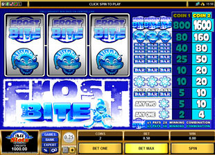Frost Bite slot game online review