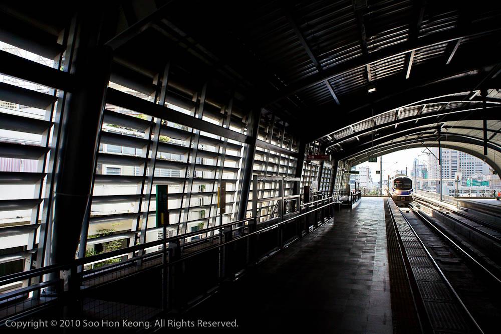 Bangkok Airport Rail Link Phaya Thai Station @ Bangkok, Thailand