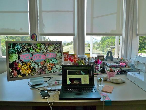 Alissa's desk