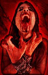Feed or Die (Moira_Fee) Tags: red death pain blood rojo vampire ak rage muerte psycho ira vampiro simons heidy amazin krisis