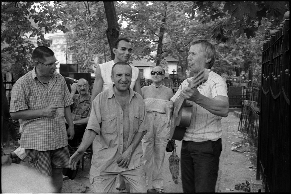 В.Высоцкий/ Ваганьковское кладбище, Москва 25/07/2010