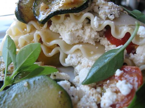 summer lasagna macro