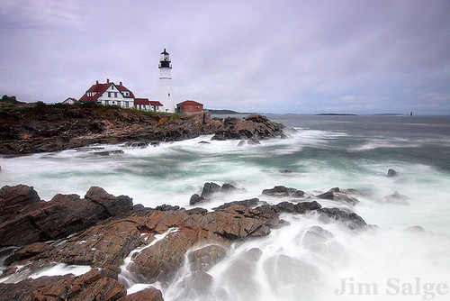 Jim Salge Photography - Hurricane Earl at Portland Head