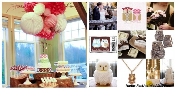 bird wedding ideas Candy Buffet image courtesy of Amy Atlas Blog
