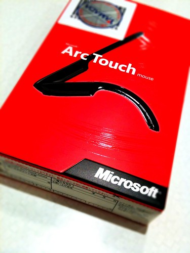 Microsoft Arc Touch Mouse UnBox