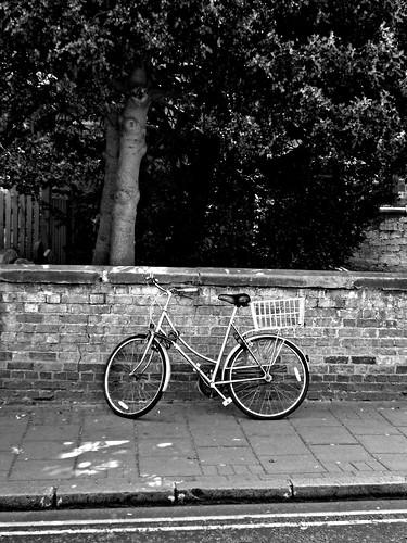 Bike on Round Street