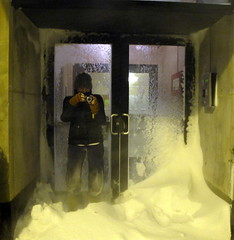 Let me in Kate (minnepixel) Tags: winter snow chicago wind blowing blizzard drift 2011