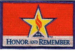 HONOR AND REMEMBER PATCH